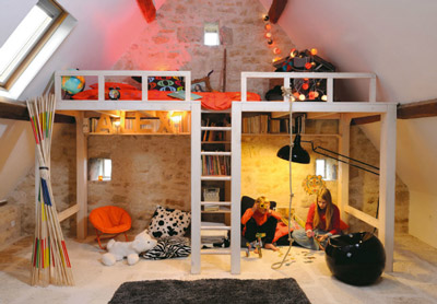 Loft Kids Bedroom