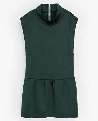 Drop waist dress Zara