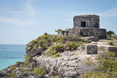 Tower at the Tulum ruins